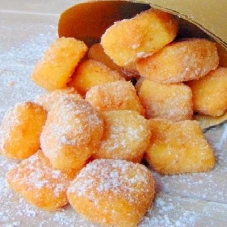 Crema fritta alle madorle, ricetta di Laura da Imperia