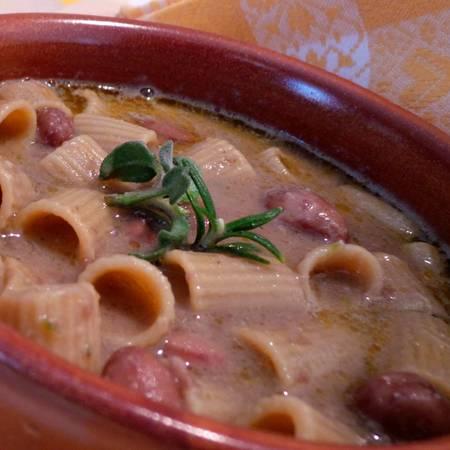 Pasta e fagioli, ricetta di Anna di Badalucco