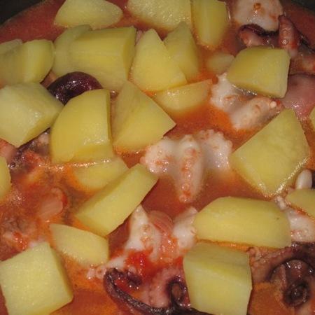 Insalata di moscardini, ricetta di Roberto da Bordighera