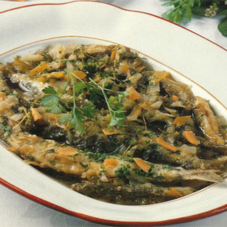 Zèri all'aiadda (in carpione), ricetta di Giovanna da Porto Maurizio