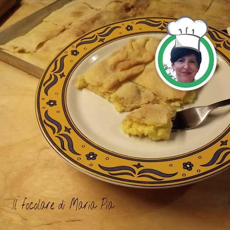 Torta di patate (Cucina Bianca), ricetta di Maria Pia da Sanremo