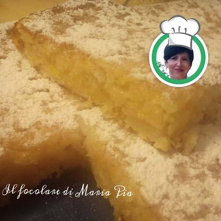 Torta morbida di Mele, ricetta di Maria Pia da Sanremo