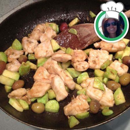 Straccetti di pollo e olive, ricetta di Silvia da Bordighera