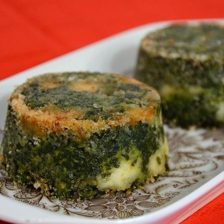Sformatino di spinaci con carciofi, ricetta di Simona da Arma di Taggia