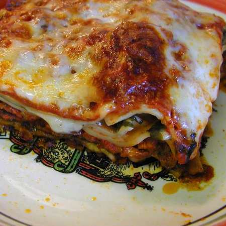 Lasagne al pesto e pomodorini, ricetta di Rosalba da San Lorenzo al Mare