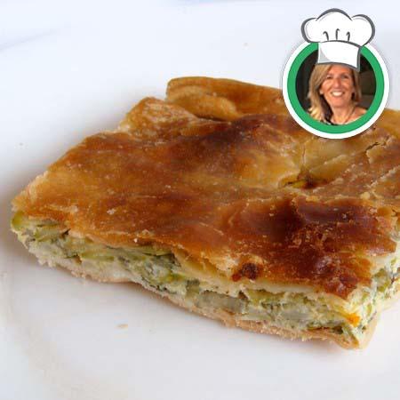 Torta verde (salata), ricetta di Angela da Moano